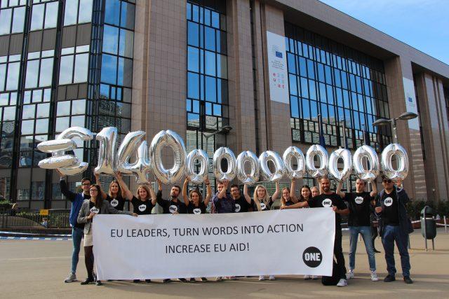 Von Berlin nach Brüssel: ONEYouth im Europa Parlament