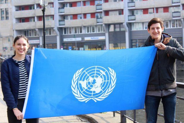 Erfahrungen von ehemaligem Jugendbotschafter Nikolas als UN-Jugenddelegierter