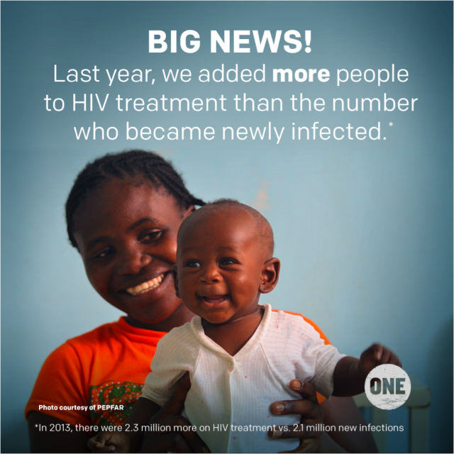 Kantelpunt: het begin van het einde van aids