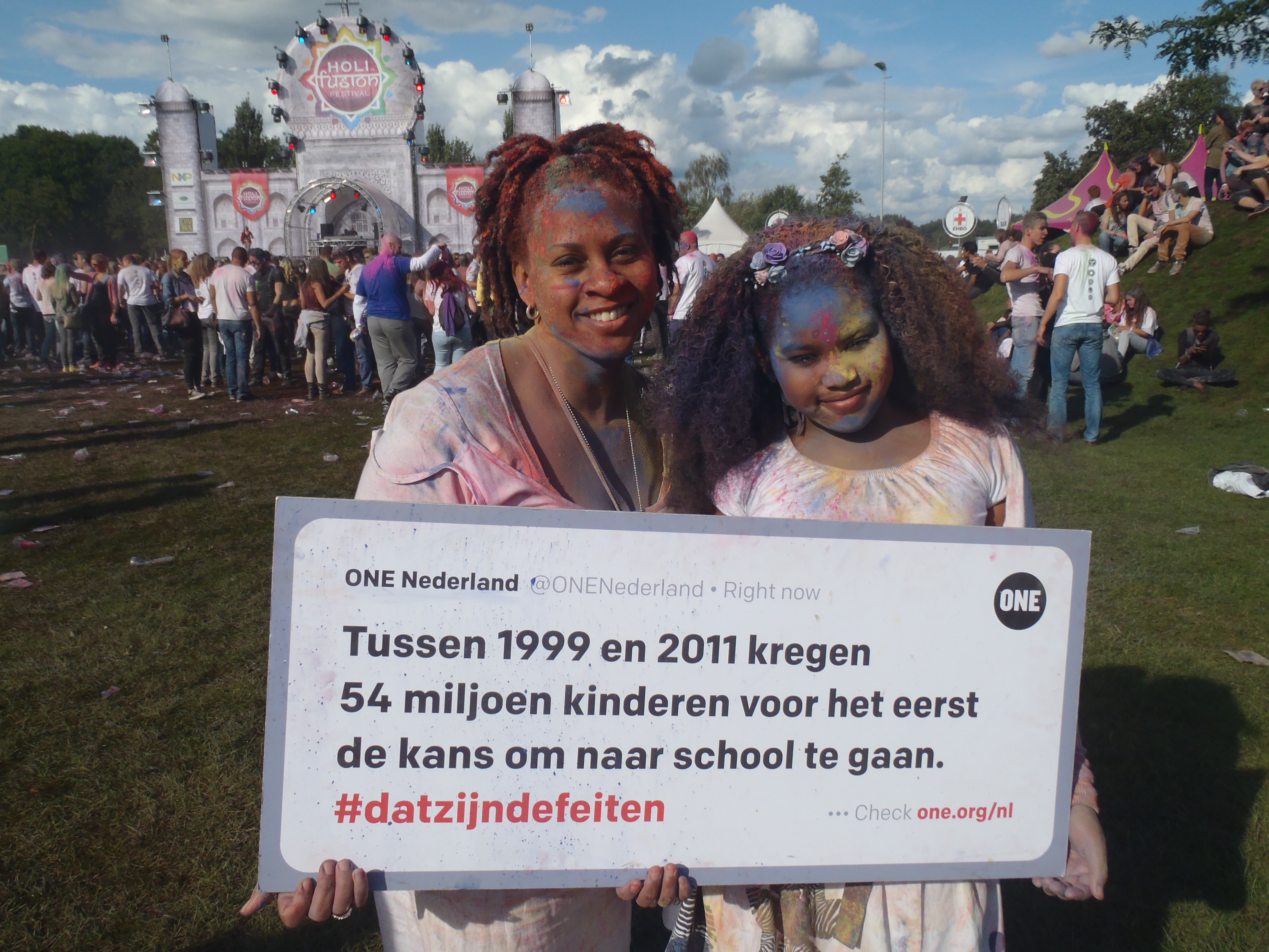 #datzijndefeiten bij het Holi Festival Eindhoven