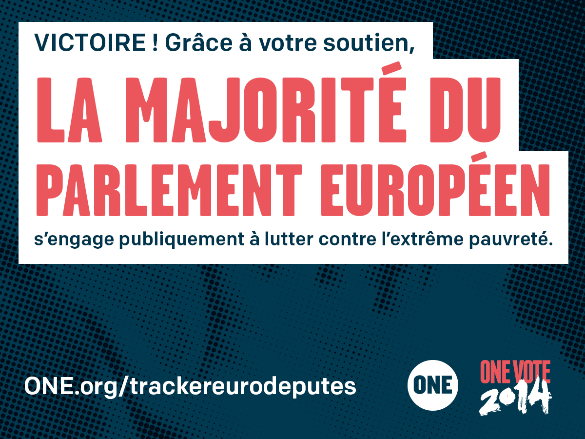 ONE VOTE 2014 : un grand exploit !