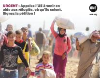 URGENT ! Soutenez les réfugiés