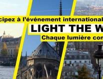 #LightTheWay , de Paris à New-York