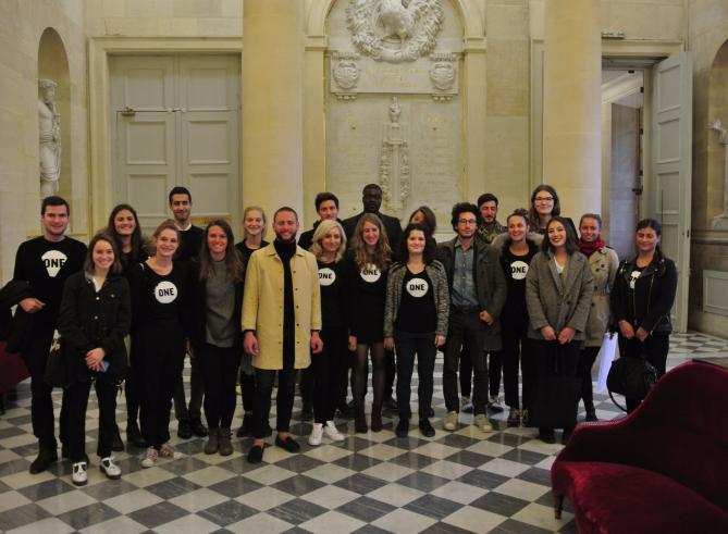 Le combat des jeunes Ambassadeurs de ONE pour l'aide au développement