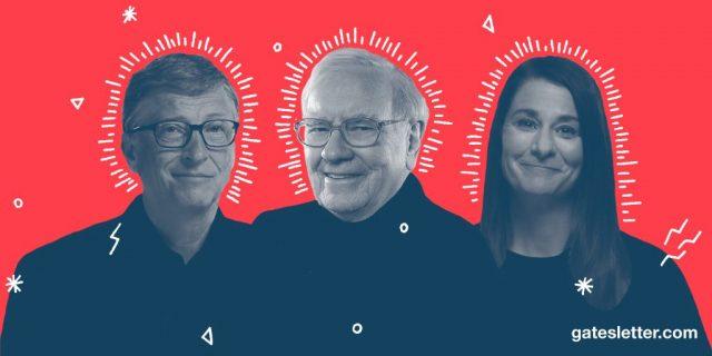 A lire: la lettre annuelle de Bill et Melinda Gates adressée à Warren Buffett