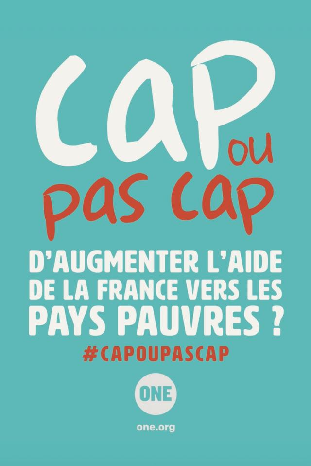 Aide au développement : la France doit tenir ses engagements !