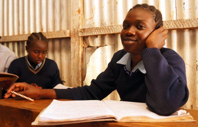 Serafina se bat pour que toutes les filles aient accès à l'éducation