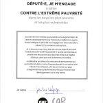 La signature du député MoDem Jean-Luc Lagleize