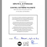 La signature du député REM Pierre Person