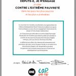 La signature de la députée LFI Bénédicte Taurine
