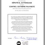 La signature de la députée REM Marie-Christine Verdier-Jouclas
