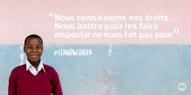 Eva, cette jeune fille de 17 ans qui a gagné son combat pour avoir accès à l'eau potable