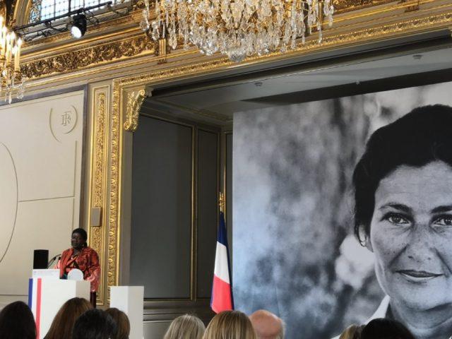 Le prix Simone Veil décerné à cette incroyable activiste camerounaise