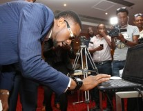 DO AGRIC campaign launches at the African Union Summit with Yaya Toure, D' banj and Juliani
