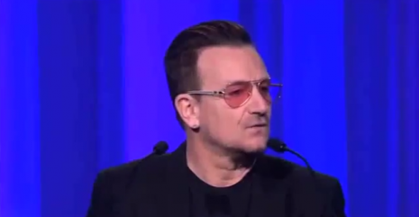 Bono urges Europe's leaders to fight corruption