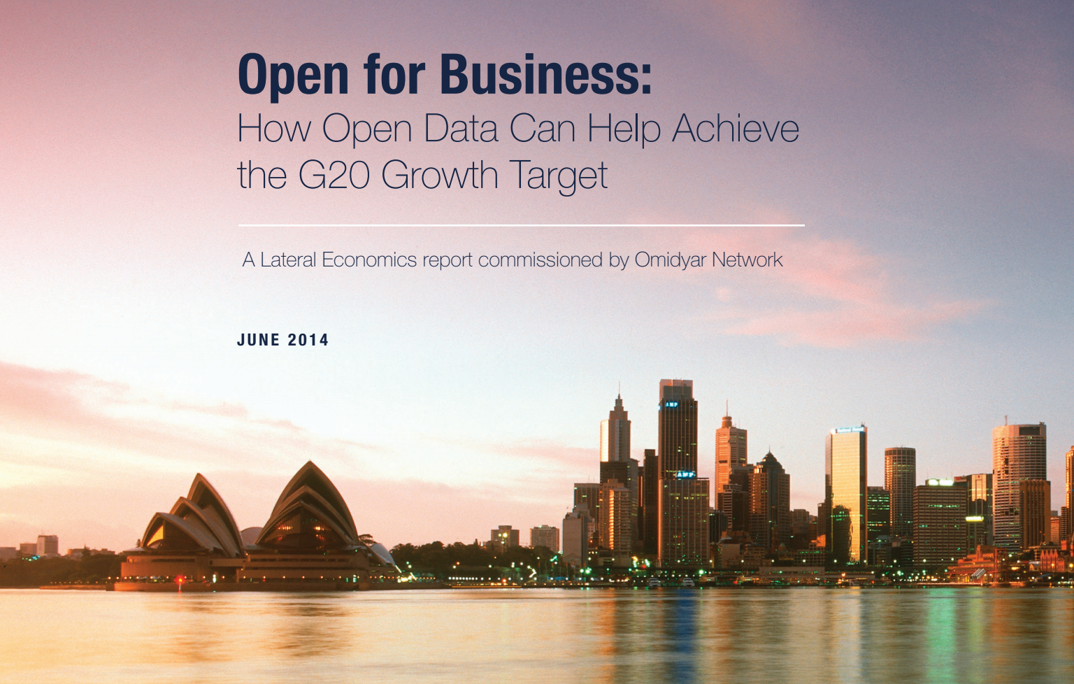 How open data can boost economic growth