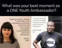 The last word from our Youth Ambassadors