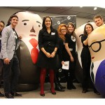 ONE staff take giant Russian dolls to the European Parliament in Brussels for a debate about anonymous shell companies, and to drum up support for a new Anti-Money Laundering Directive. Photo: ONE