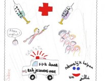 Beautiful kids' drawings show what being healthy means to them