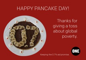 Pancake Day: Who gives a toss about development aid?