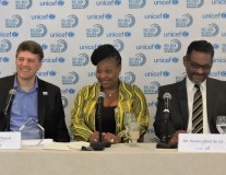 South African singer Yvonne Chaka Chaka celebrates 10 years of campaigning with the United Nations
