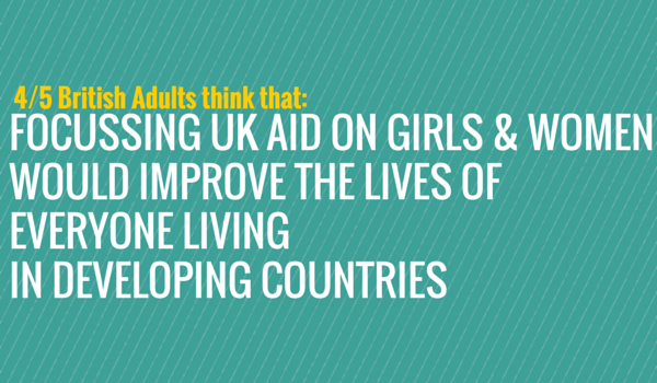 If you were in control of the UK aid budget, what would you spend it on?