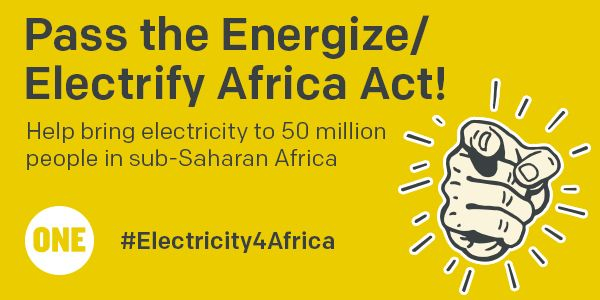 Our campaign to bring energy to Africa!
