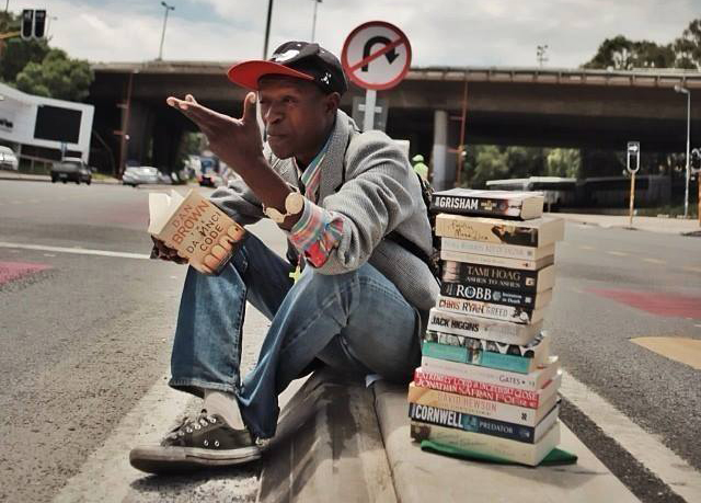 Amazing! This is how books helped Philani overcome homelessness