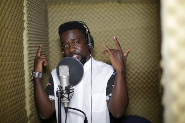 Sarkodie_In_Studio_Ghana