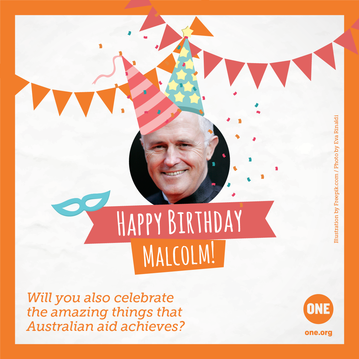 send australian prime minister malcolm turnbull a birthday card - Send Birthday Card