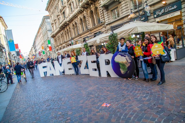 World Food Day: Italian Youth Ambassadors stood as ONE in Milan!