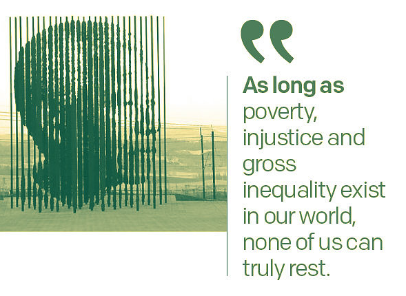 10 times Nelson Mandela was spot on about ending extreme poverty!