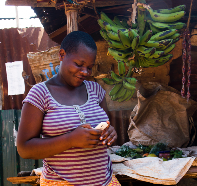 How one organisation is using mobile technology to reduce maternal and child deaths in Kenya