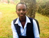 Ten years ago, Grace couldn't speak the language. Now, she's a star student.