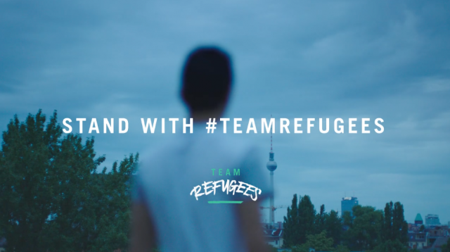 "#TeamRefugees: ""They motivated me"""