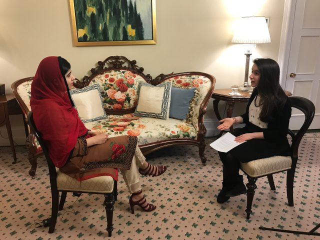 My exclusive interview with Malala Yousafzai