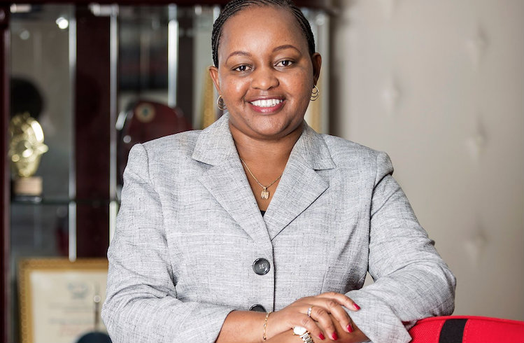 Anne Waiguru - governor nominee in Kirinyaga