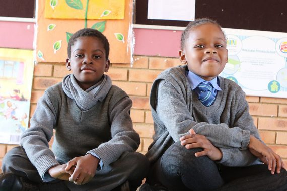 These South African students are going from readers to leaders