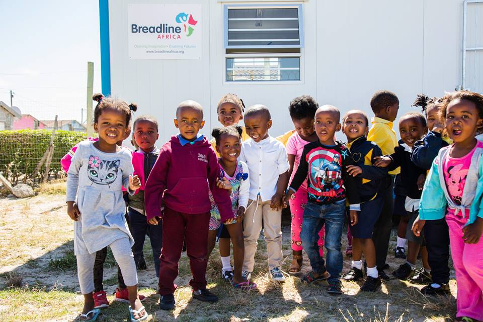 These shipping containers are being repurposed as schools