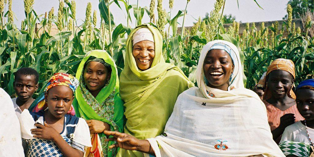 Women and children in Nigeria. (Photo credit: A. Fleuret/USAID)