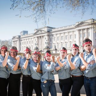 Here's why we're dressing up like world leaders in London