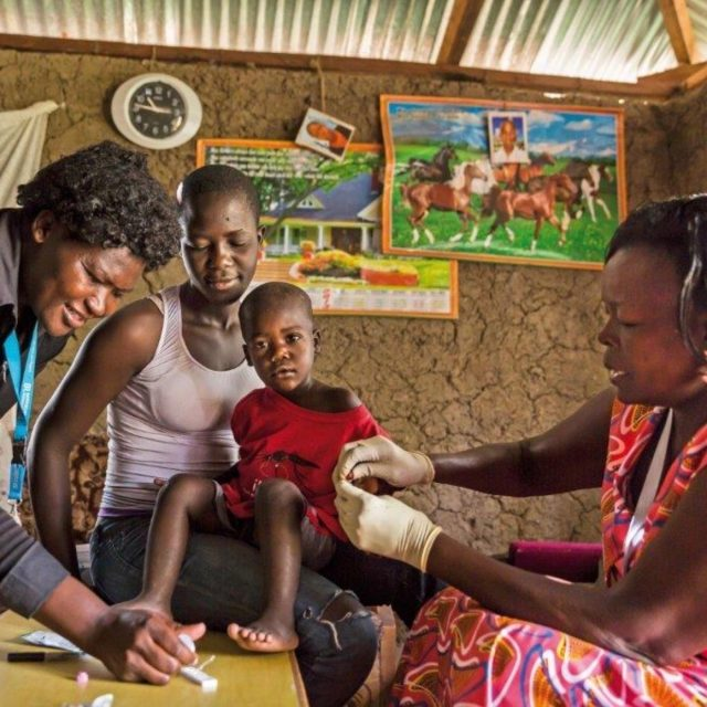 This network of heroic caregivers are fighting malaria in Nigeria
