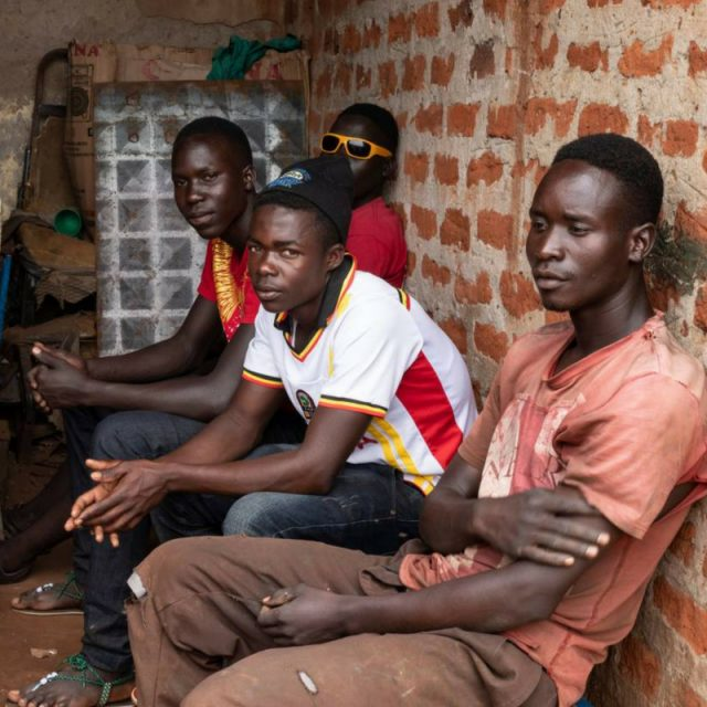 Ex-child-soldier opens up youth centre in Uganda to help others like him