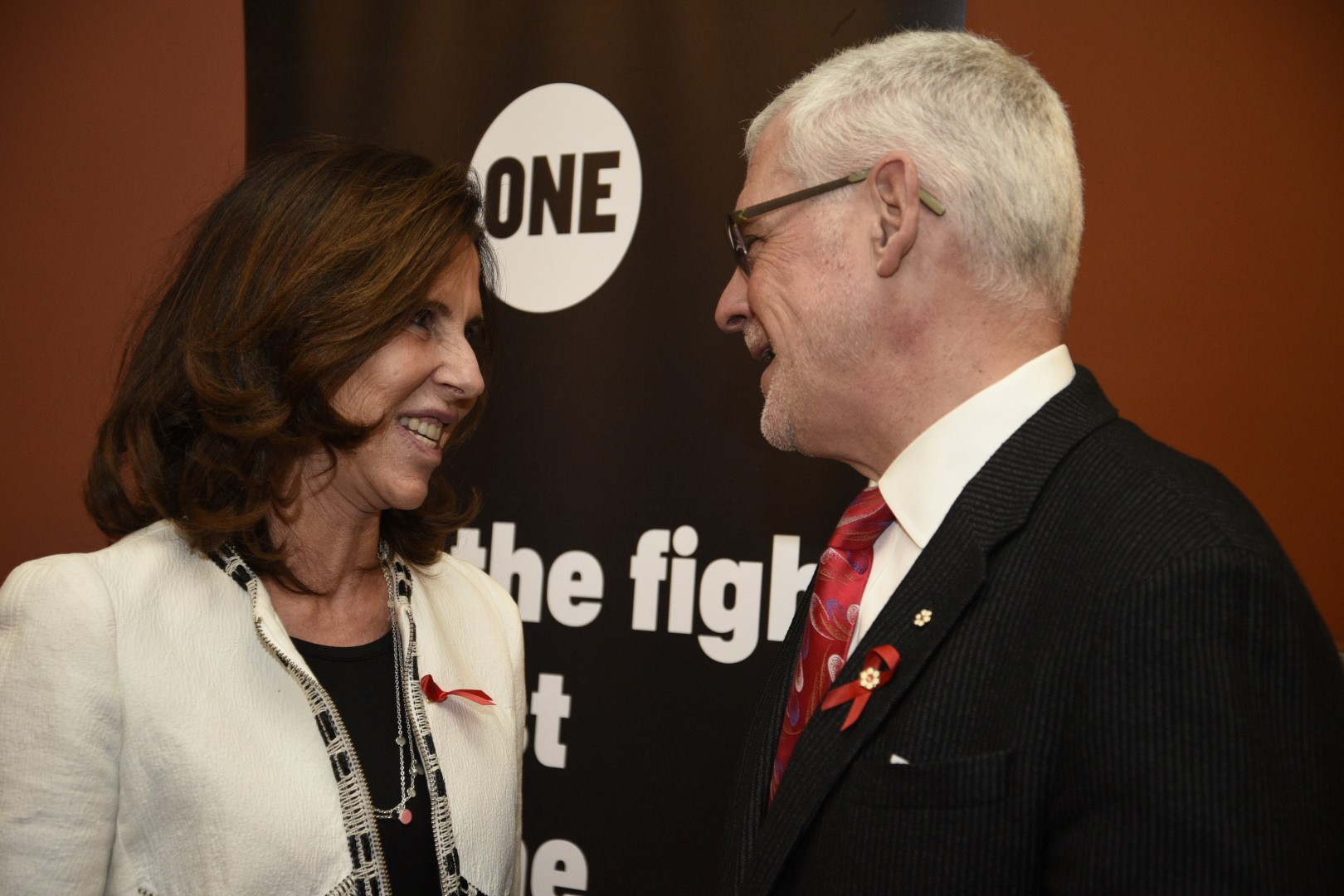 Her Excellency Kareen Rispal, Ambassador of France to Canada, discusses the Sixth Replenishment Conference for the Global Fund France will host in 2019, with leading HIV/AIDS researcher, Dr. Julio Montaner.