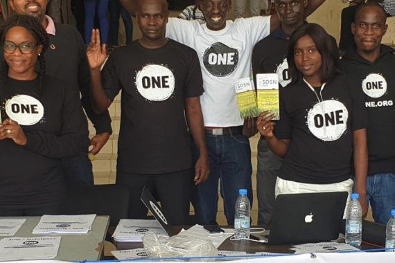 ONE welcomes new supporters in Senegal