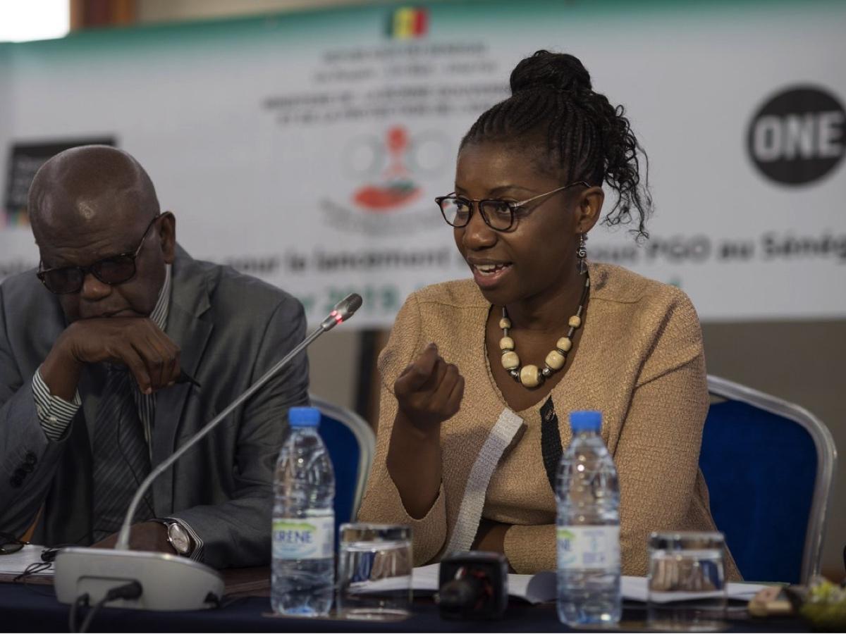 Rudo Kwaramba-Kayombo, ONE's Africa Executive Director.
