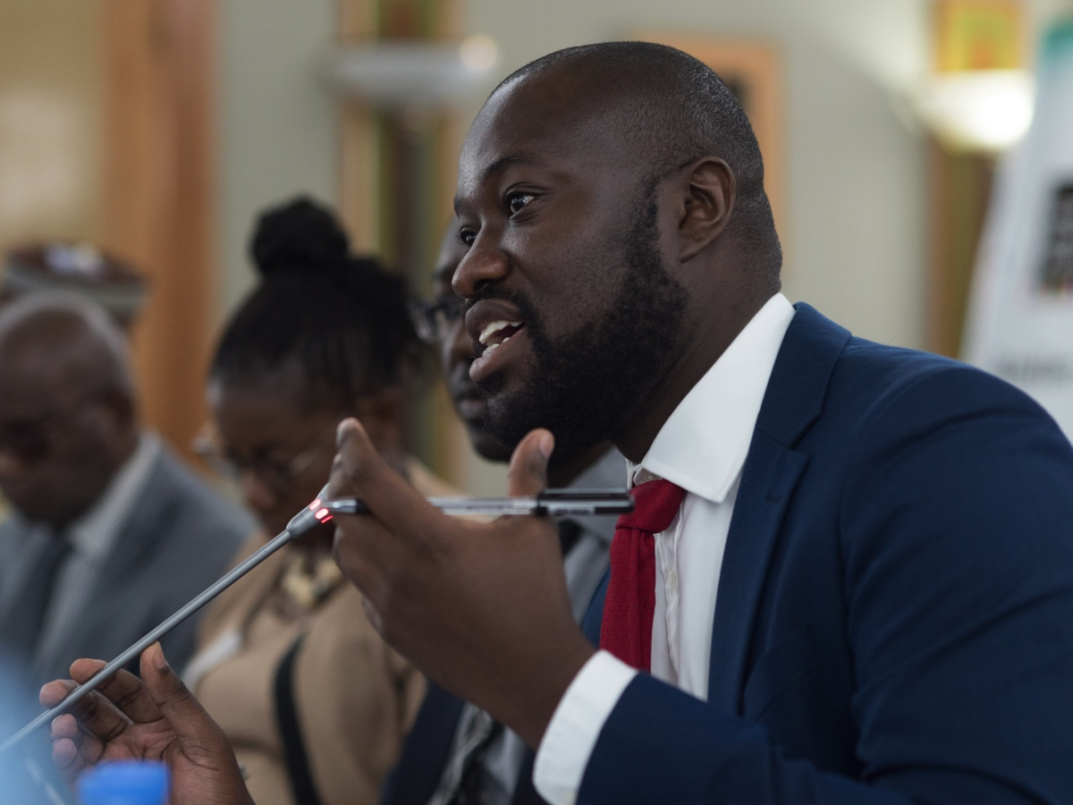 OGP's Senior Regional Coordinator, Theophilus Chiviru