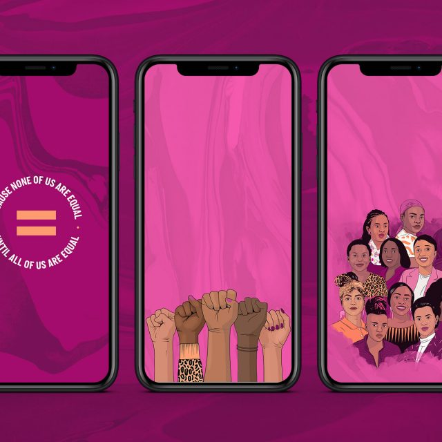 Download these exclusive gender equality wallpapers!
