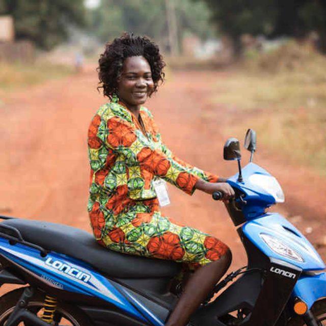 Christine is breaking sexual violence stigma in Sudan