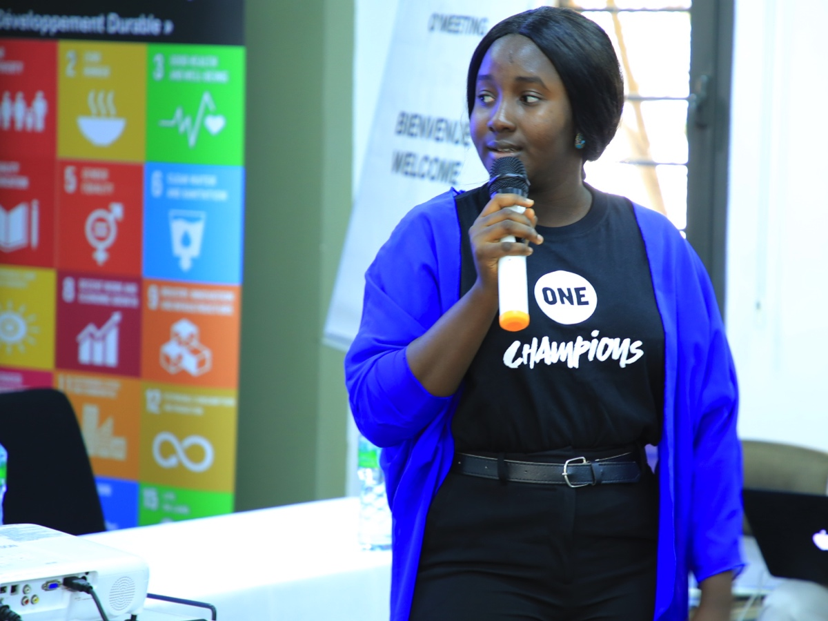 Wadi Ben Hirki, shares her experience of being a ONE Champion, Nigeria.